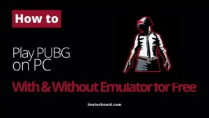 How to Play PUBG on PC With and Without Emulator for Free