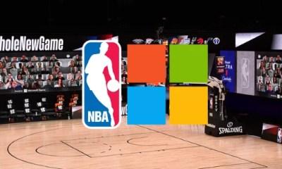 Microsoft to put virtual fans in NBA basketball arenas