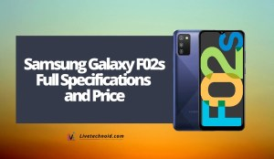 Samsung Galaxy F02s Full Specifications and Price