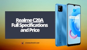 Realme C20A Full Specifications and Price