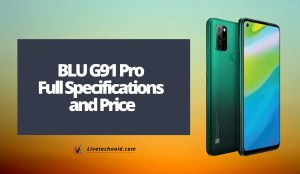 BLU G91 Pro Full Specifications and Price