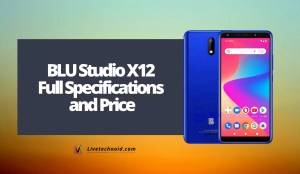 BLU Studio X12 Full Specifications and Price