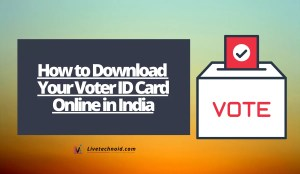 How to Download Your Voter ID Card Online in India