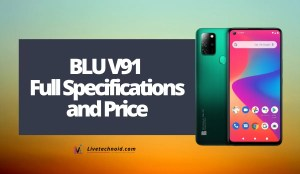 BLU V91 Full Specifications and Price
