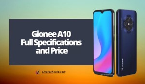 Gionee A10 Full Specifications and Price