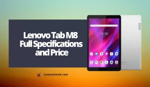 Lenovo Tab M8 (3rd Gen) Full Specifications and Price
