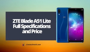 ZTE Blade A51 Lite Full Specifications and Price