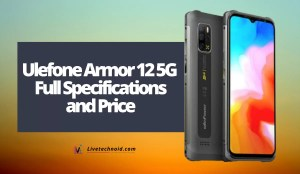 Ulefone Armor 12 5G Full Specifications and Price