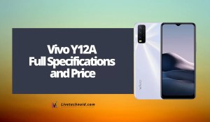 Vivo Y12A Full Specifications and Price