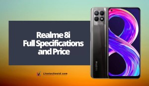 Realme 8i Full Specifications and Price