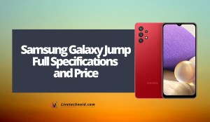 Samsung Galaxy Jump Full Specifications and Price