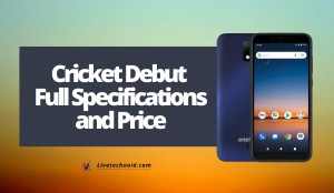 Cricket Debut Full Specifications and Price