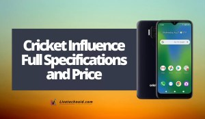 Cricket Influence Full Specifications and Price