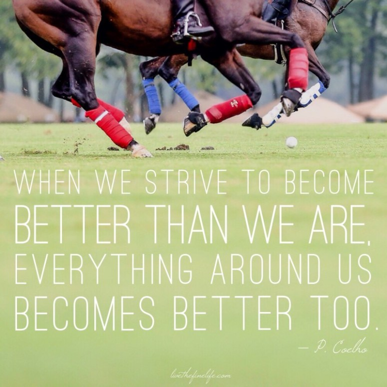 Be Better:: from The Alchemist by Paul Coelho; Photo credit: Kathy Sandler, SDG Photography