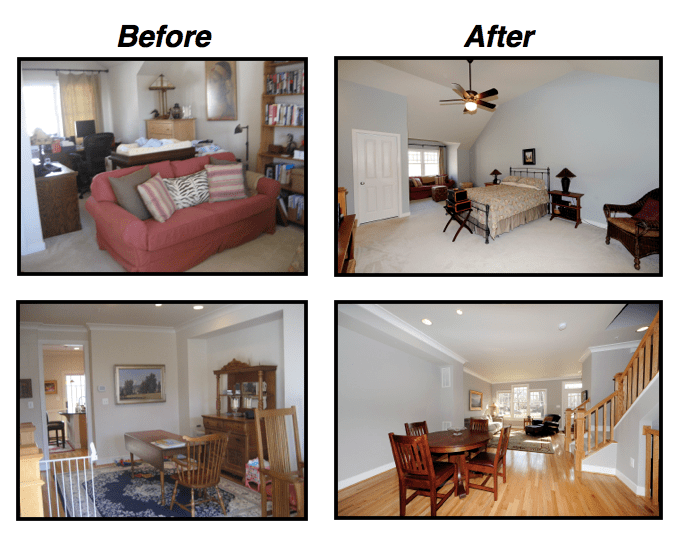 Staging your home ensures buyers will see it in its best condition