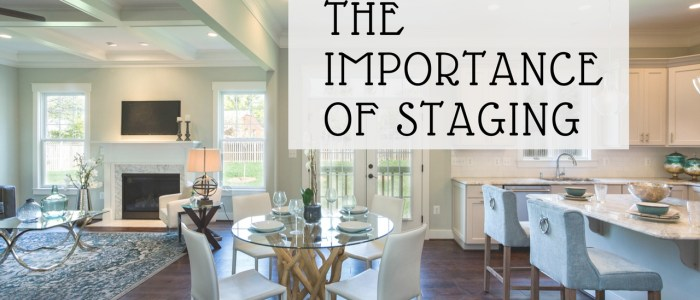 Benefits of staging a home for sale
