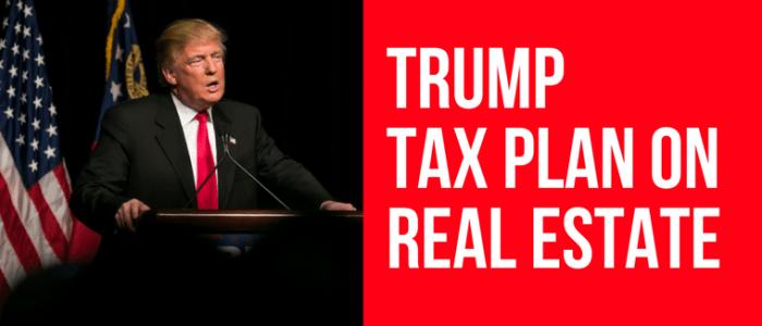 2018 trump tax plan dc md va real estate