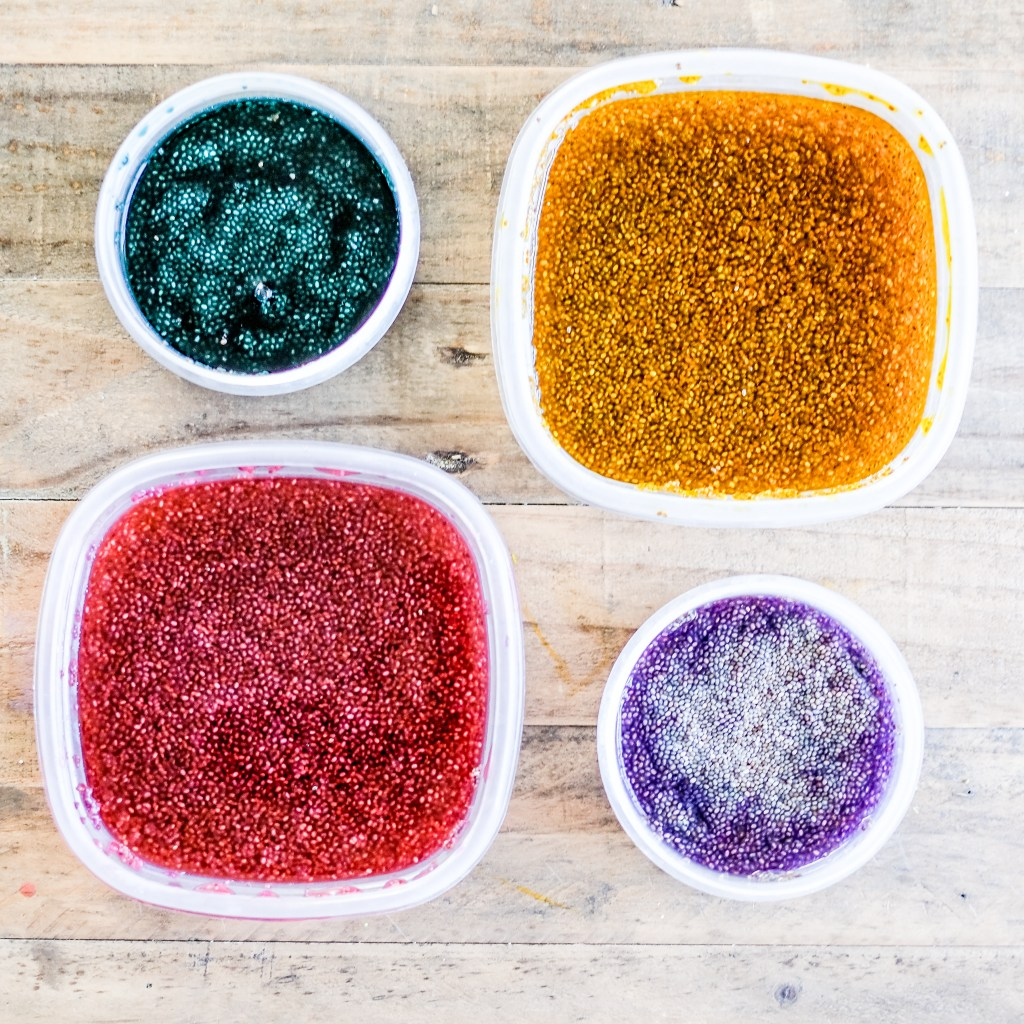 Taste Safe Sensory Play ideas for babies and toddlers