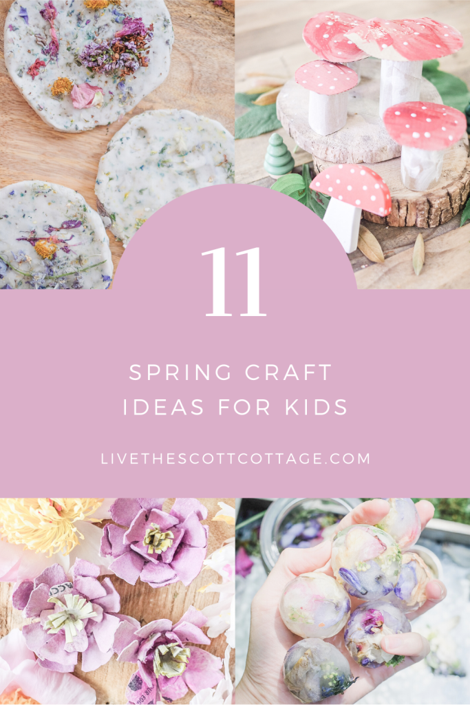 11 Beautiful Spring Crafts for Kids