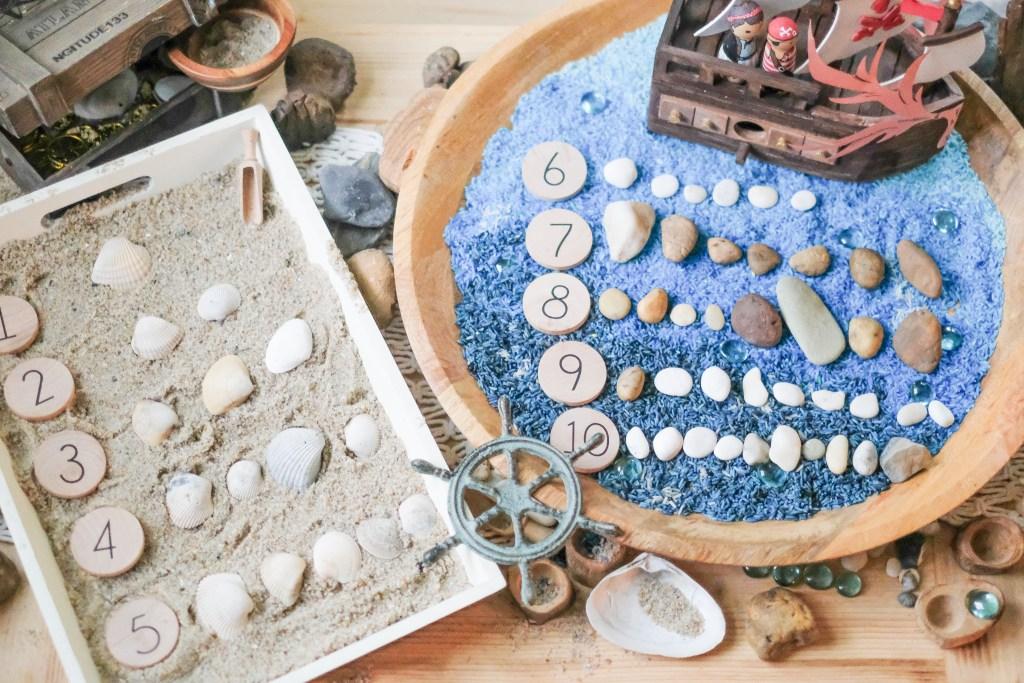 Beach Sensory Play Ideas for Kids livethescottcottage.com