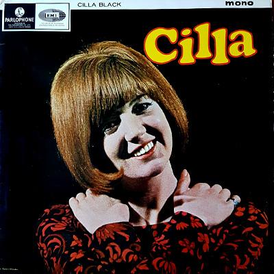 Skivomslag med Cilla Black.
