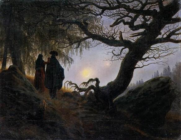 Målning av konstnären Caspar David Friedrich.