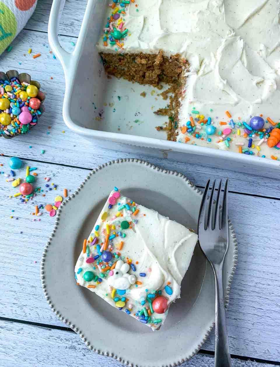 Funfetti Wacky Cake