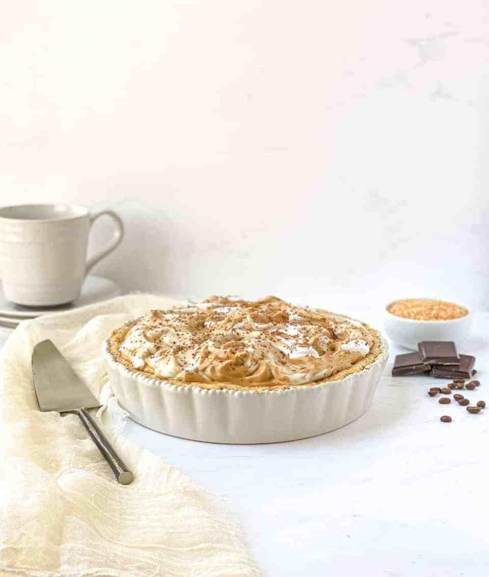 Coconut Mocha Pie