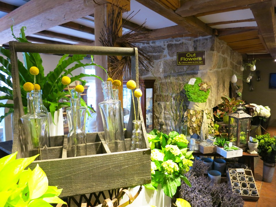 Interior of Studio 539 Floral Studio located on Wickenden Street in Providence, RI