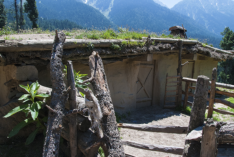 Tribal house @ Pahalgam