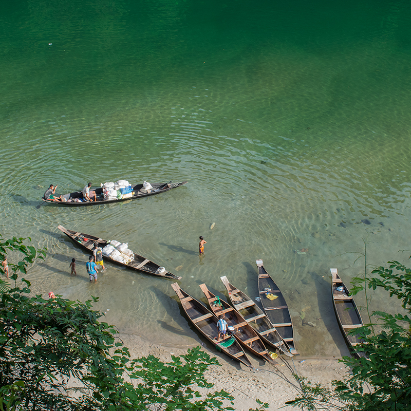 Umngot river - Dawki