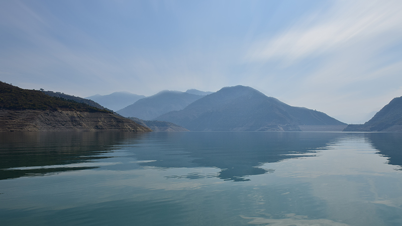Boating @ Tehri dam backwaters