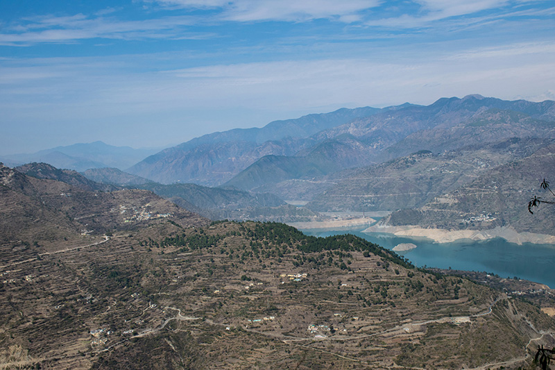 Overview of Tehri dam backwaters
