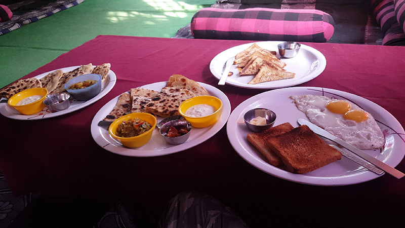 Breakfast @ Rambo guest house