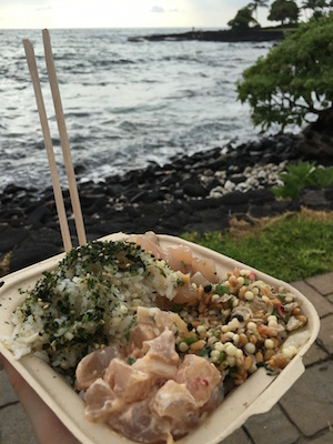 Poke Bowl – The Hawaiian version of sashimi