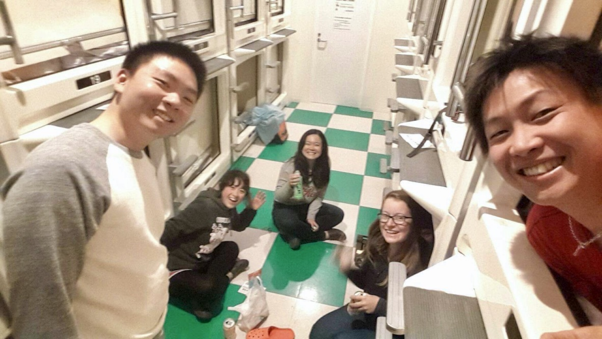 Capsule Hotel Sneaky Beers and Miscommunications