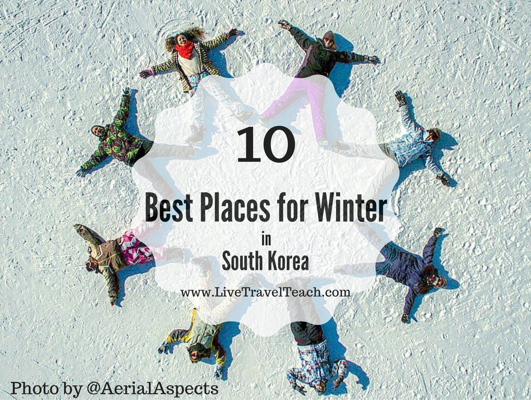 Best Places for Winter in Korea