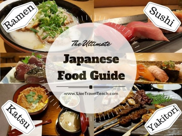 Japanese Food Guide: Enjoy Traditional Japanese Food