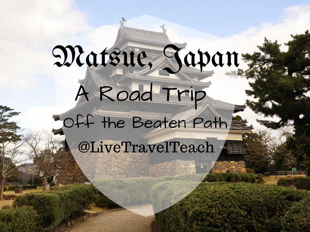 Matsue, Japan - A road trip off the beaten path