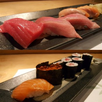 Two types of Sushi Restaurants in Japan
