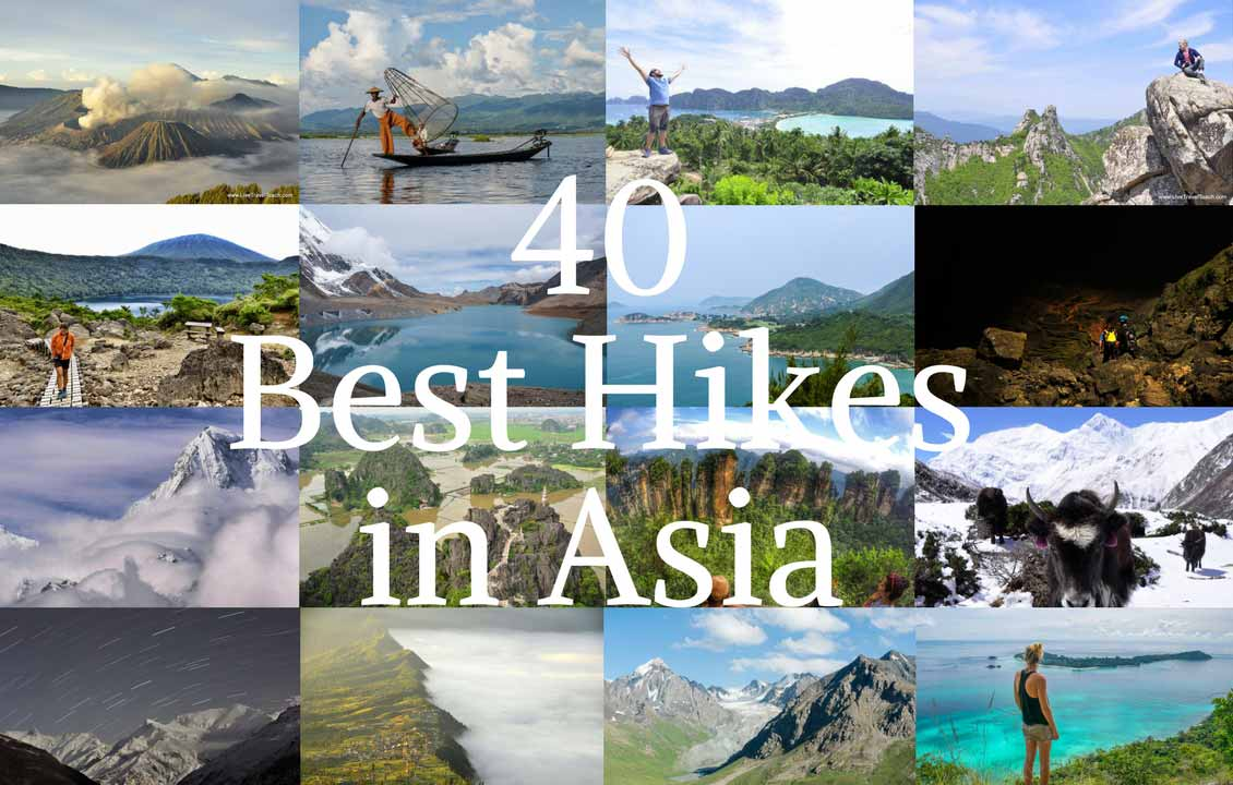 40 Best Hikes in Asia