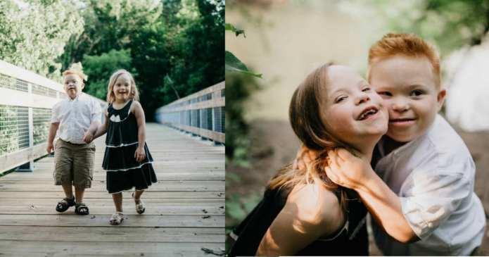 Doi copii cu sindromul Down au cea mai frumoasă relație