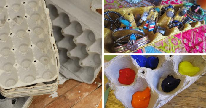 Nu aruncați cofrajele de ouă, uite 17 moduri distractive de a le refolosi