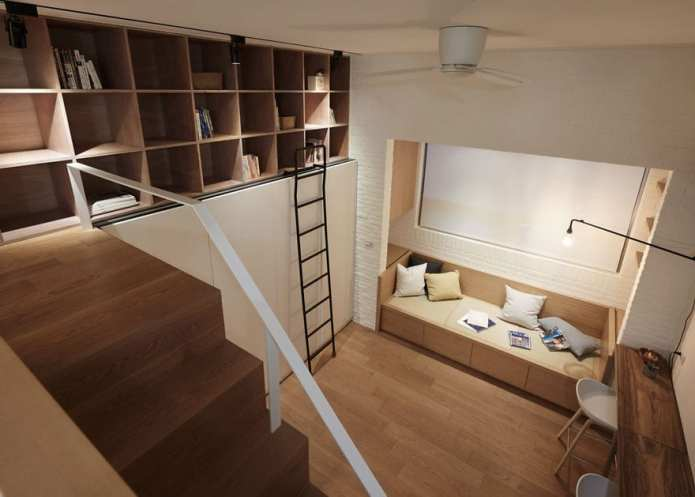 Oamenilor nu le vine să creadă că acesta apartament are doar 22 de metri pătrați.Uitati-vă la poze!