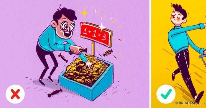 10 moduri simple prin care putem evita sa cadem in capcanele intinse de propria noastra  minte