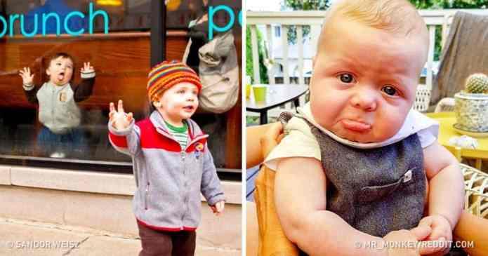 20 de bebeluși ale căror emoții nu cunosc limite
