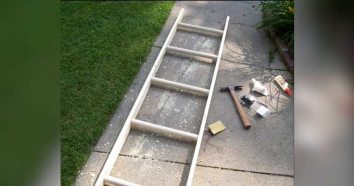 O mamă a cumpărat o scară veche şi a transformat-o într-o piesă superbă pentru casă. Aceste idei vă pot ajuta si pe voi!