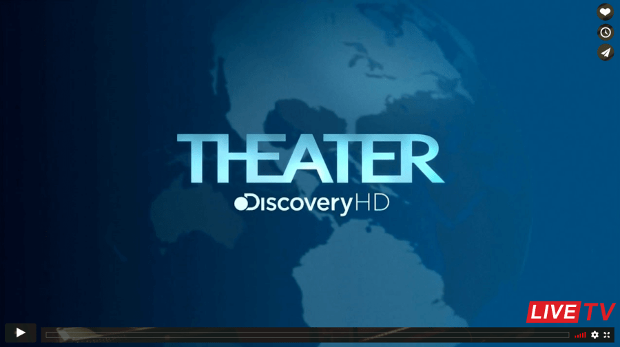 Discovery Theater ao Vivo