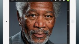 kyle-lambert-morgan-freeman-ipad-finger-painting