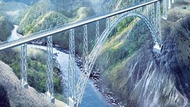सबसे ऊंचा रेलवे ब्रिज